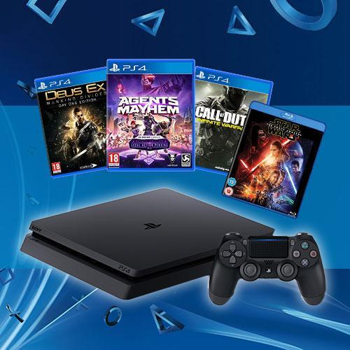 PlayStation 4 - пакетни предложения