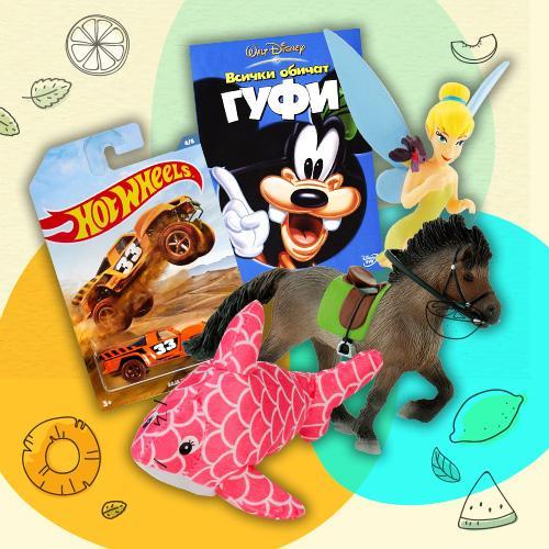 5 детски продукта за 25 лв.