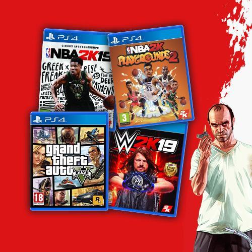 Take-Two Interactive игри на цени от 39.99 лв.