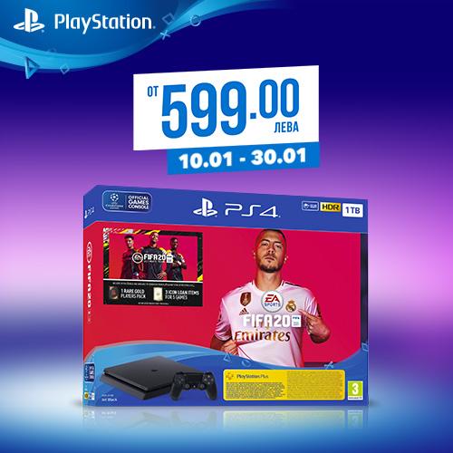 PlayStation 4 + FIFA 20