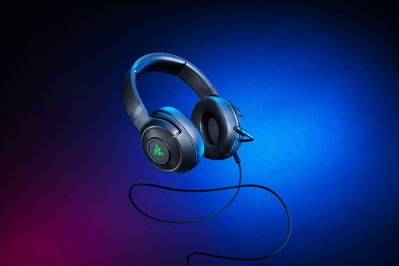 Гейминг слушалки Razer - Kraken V3 X, черни