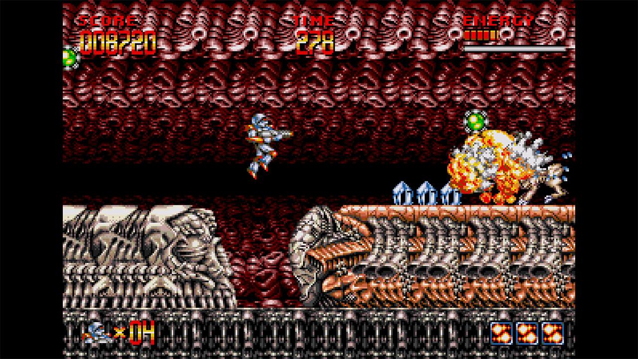 Turrican Flashback: 30th Anniversary (PS4)