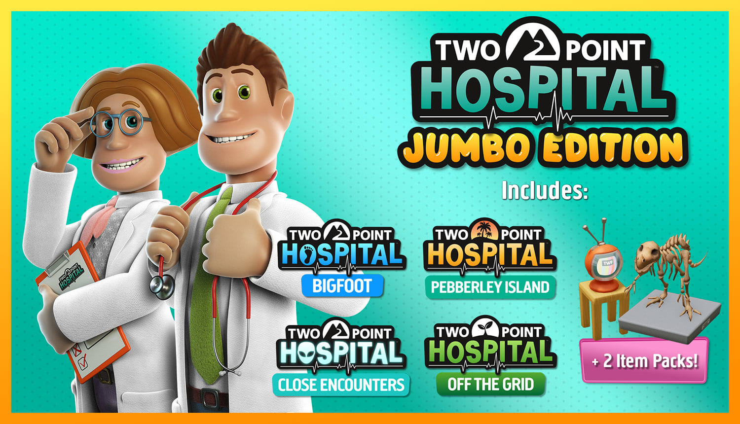 Two Point Hospital: Jumbo Edition (PS4)