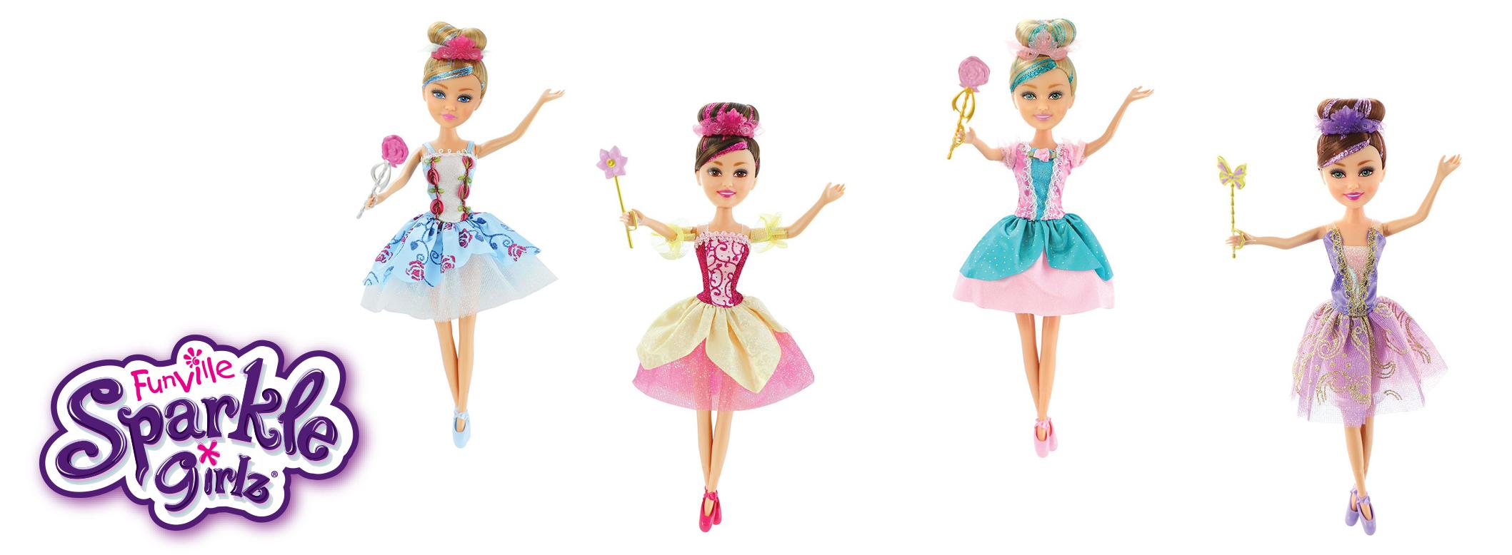 Кукла Балерина Sparkle Girlz - Super Sparkly, 27 cm