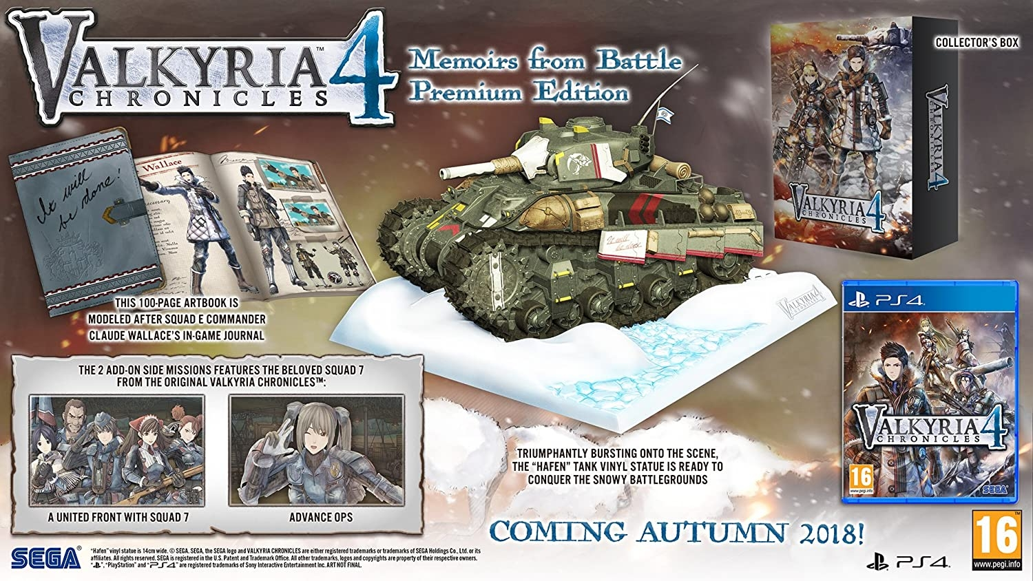 Valkyria Chronicles 4: Memoirs from Battle Premium Edition (PS4)