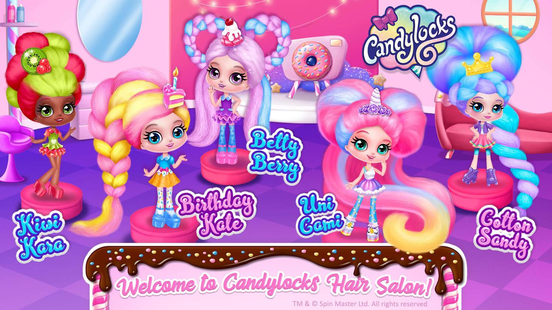 Мини кукли Candylocks
