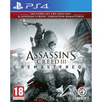Assassin's Creed III Remastered + All Solo DLC & Assassin's Creed Liberation (PS4)