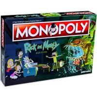 Настолна игра Monopoly -Rick and Morty Edition