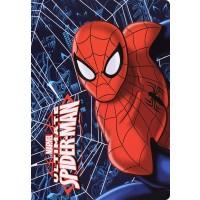 Ученическа тетрадка А5, 24 листа Spider-Man - Спайдърмен на тъмносин фон с паяжина