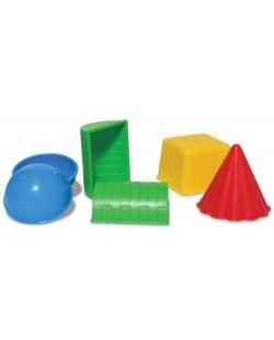Комплект играчки за пясък Sands Alive - Геометрични форми