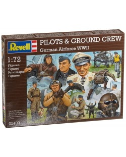 Фигури Revell - Pilots & ground crew Germain Airforce WWII (02400)