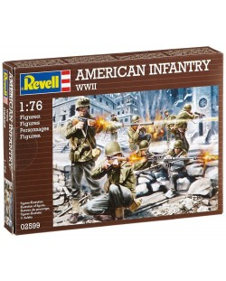 Фигури Revell - American Infantry WWII (02599)