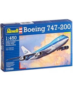 Сглобяем модел на самолет Revell - Boeing 747-200 (03999)