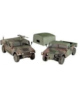 Сглобяем модел на военни джипове Revell - HMMWV M998 & M1025 (03137)