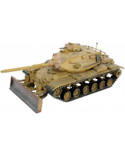 Сглобяем модел на танк Revell - M60A3 with M9 dozer blade (03175)