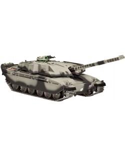 Сглобяем модел на танк Revell - British Main Battle Tank CHALLENGER I (03183)