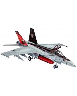 Сглобяем модел на изтребител Revell - F/A-18E Super Hornet (03997)