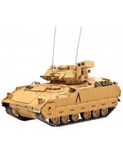 Сглобяем модел на танк Revell - M2 A2 Bradley (03185)