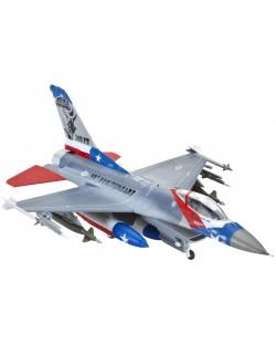 Сглобяем модел на изтребител Revell Lockheed - Martin F-16C Fighting Falcon (03992)