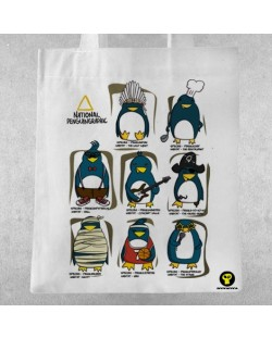 Памучна чанта RockaCoca Penguin All Star
