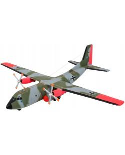 Сглобяем модел на военен самолет Revell - C160 Transall (03998)