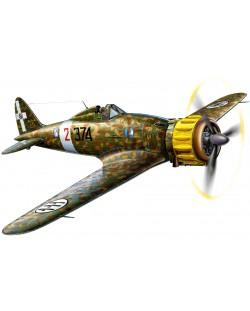 Сглобяем модел на военен самолет Revell - Macchi C.200 SAETTA (03991)
