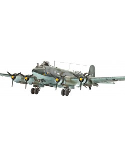 Сглобяем модел на военен самолет Revell Focke Wulf - Fw 200 C-4 CONDOR Bomber (04678)
