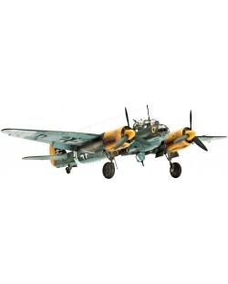 Сглобяем модел на военен самолет Revell Junkers - Ju88 A-4 Bomber (04672)