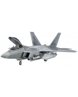 "Сглобяем модел на изтребител Revell - Lockheed F-22 ""Raptor"" (04386)"