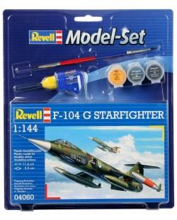 Сглобяем модел на военен самолет Revell - F-104 G Starfighter (04060)