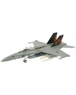 Сглобяем модел на военен самолет Revel - F/A-18 D Hornet Wild Weasel (04064)