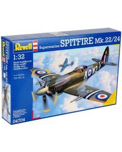 Сглобяем модел на военен самолет Revell Supermarine - SPITFIRE Mk.22/24 (04704)