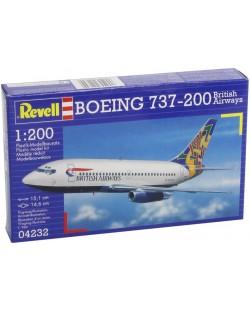 Сглобяем модел на самолет Revell - Boeing 737-200 (04232)