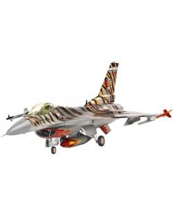 Сглобяем модел на военен самолет Revell Lockheed - Martin F-16C Tiger Meet 2003 (04669)