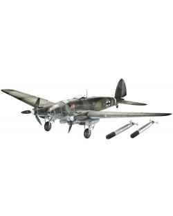 Сглобяем модел на военен самолет Revell Heinkel - He 111 H-6 (4836)