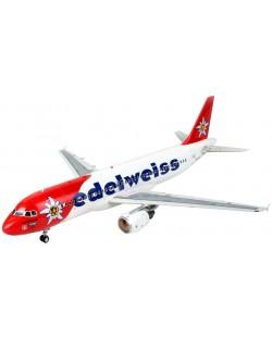 Сглобяем модел на самолет Revell - Airbus A320 Edelweiss Air (04272)