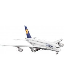 Сглобяем модел на самолет Revell - Airbus A380 Lufthansa (04270)