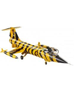 Сглобяем модел на военен самолет Revell - F-104 G Starfighter Tigermeet (04668)