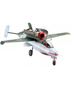 Сглобяем модел на военен самолет Revell Heinkel - He162A-2 Salamander (04723)