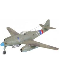 Сглобяем модел на военен самолет Revell - Me 262 A1a (04166)