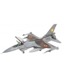 Сглобяем модел на военен самолет Revell - F-16A Fighting Falcon (04363)