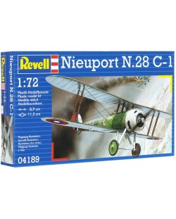 Сглобяем модел на военен самолет Revell - Nieuport N.28 C-1 (04189)