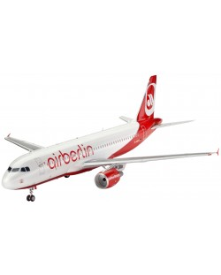 Сглобяем модел на самолет Revell - Airbus A320 AirBerlin (04861)