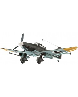 Сглобяем модел на военен самолет Revell Junkers - Ju 87 G/D Tank Buster (04692)