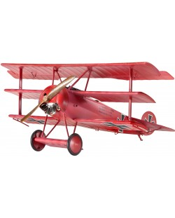 Сглобяем модел на военен самолет Revell - Fokker Dr.I Triplane (04682)