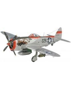 Сглобяем модел на военен самолет Revell - P-47 D Thunderbolt (04155)