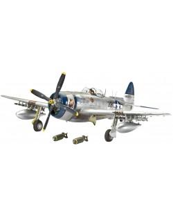 Сглобяем модел на военен самолет Revell - Republic P-47N THUNDERBOLT (04867)