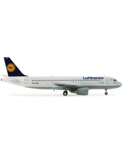 Сглобяем модел на самолет Revell - Airbus A320 Lufthansa (04267)
