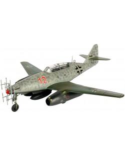 Сглобяем модел на военен самолет Revell - Me 262 B-1a/U1 Nightfighter (04179)
