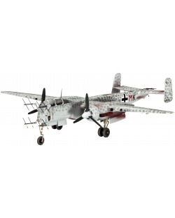 Сглобяем модел на военен самолет Revell Heinkel - He 219 UHU (04690)